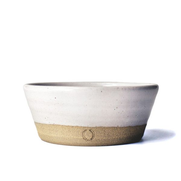 """This wheel thrown bowl is all about everyday practicality. It's commonly used for oatmeal, soup, salad or ice cream sundaes. - Style #: POT61 - 6"""" diameter - Durable American stoneware - Oven, dishwas"""