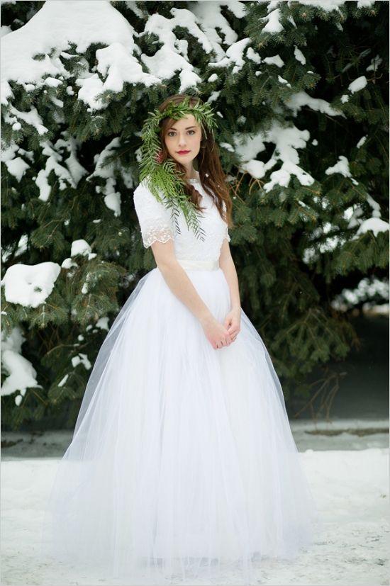 Amazing Winter Romance Wedding Ideas