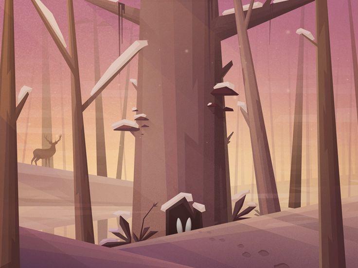 Login Background illustration for Directus http://getdirectus.com/