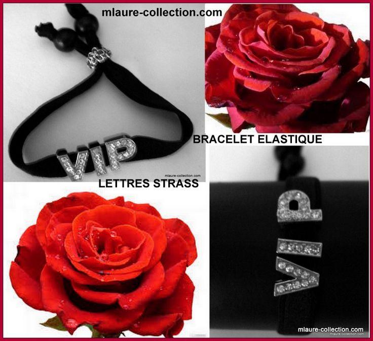 En vente sur : http://www.mlaure-collection.com Vous pouvez changer les lettres en strass, n'hésitez pas à nous contacter !