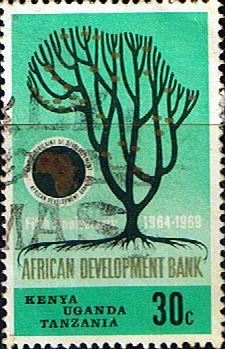 Postage Stamps Kenya Uganda Tanzania 1969 African Development Bank VI SG 268 Fine Used Scott 205 Other KUT Stamps HERE