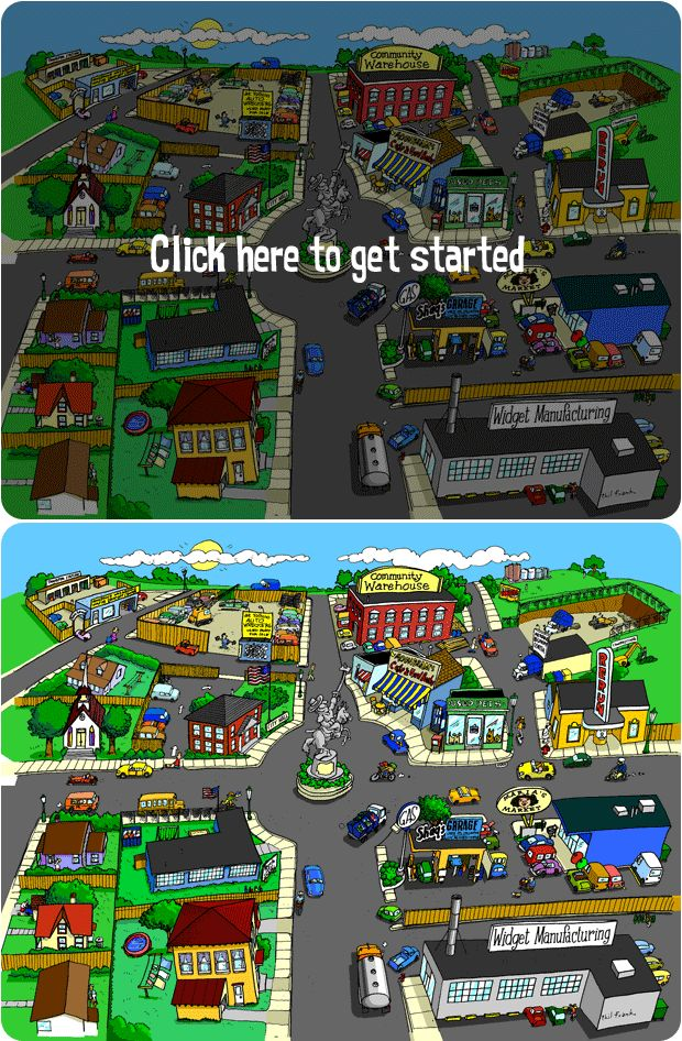 Recycle City - games, activities, scavenger hunt, and other great teaching ideas about the 3 Rs.