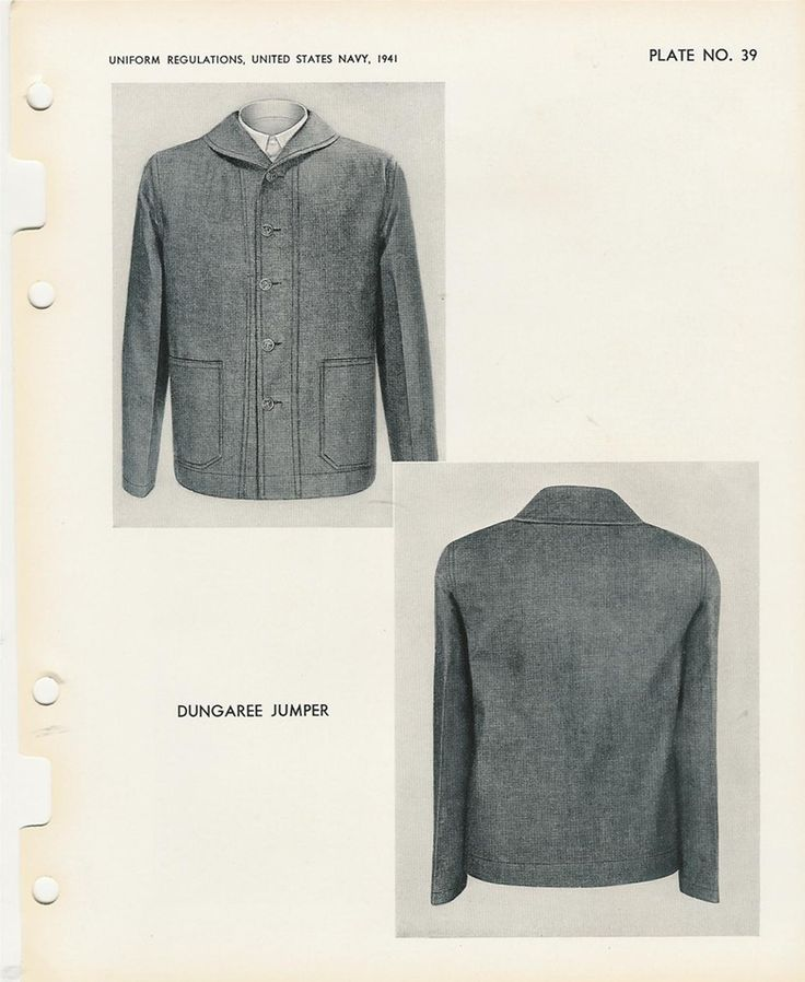 Between the 2 wars there's a certain lack of information,but this article from the 1941 US NAVY uniform regulations book ,tells a lot about the rules applied to denim work blues