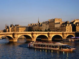 Pont Neuf and Seine River, Paris