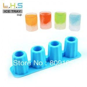 Оптовая торговля/розничная торговля, бесплатная доставка, силикагель поднос кубика льда серийный лед чашка льда лоток для льда Popsicle20 * 5*5 см