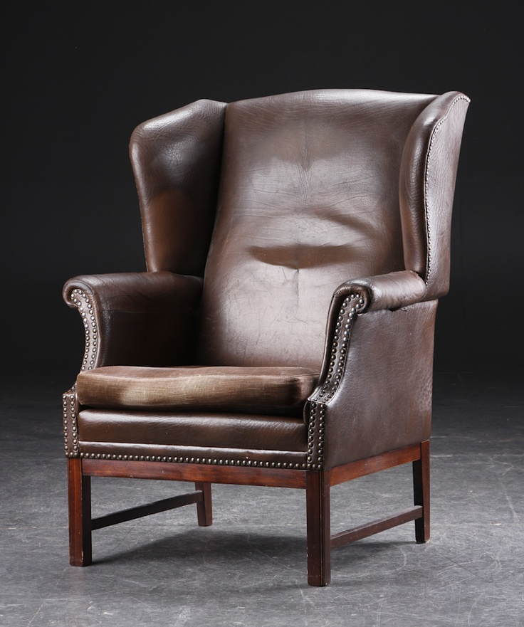 Chesterfield wingback chair
