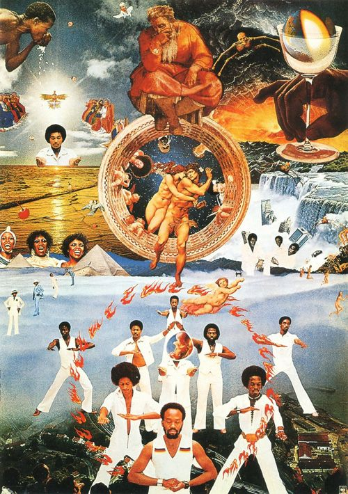 Earth Wind & Fire Poster Tadanori Yokoo