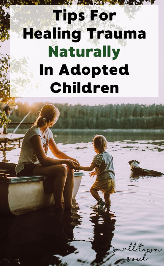 All adopted children experience trauma, and these tips for healing trauma naturally will help you work through this in the gentlest manner.