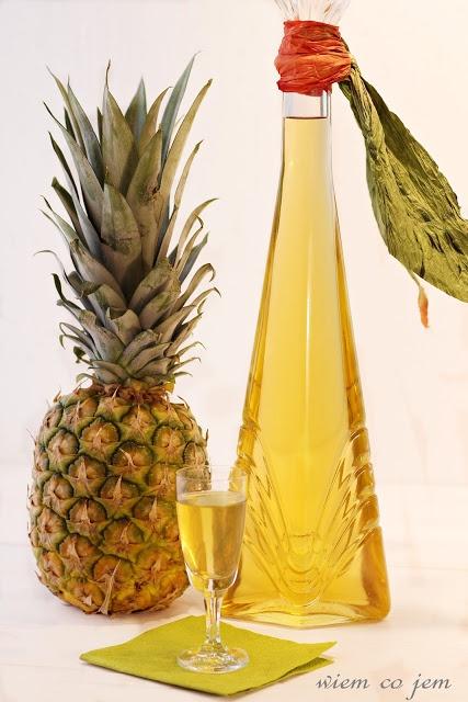 Wiem co jem - Nalewka ananasowa