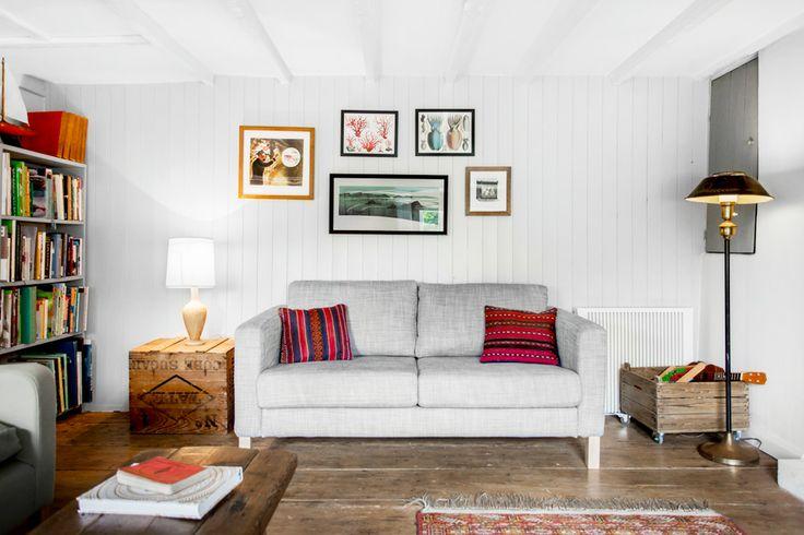 Karlstad sofa - The Hobbacott Lane Residence | Cornwall | Kid & Coe