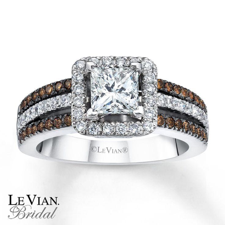 le vian chocolate diamonds | Email Le Vian Bridal Chocolate Diamonds 14K Gold Engagement Ring