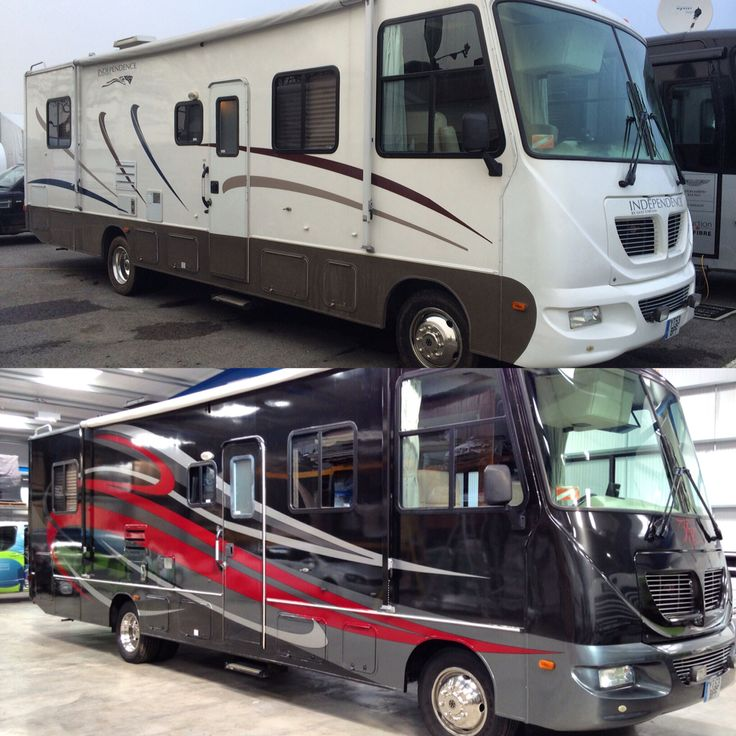 Just Had Our Rv Motorhome Wrapped Vinyl Wrap Rv Trips Rv Vehicle Rv Camping