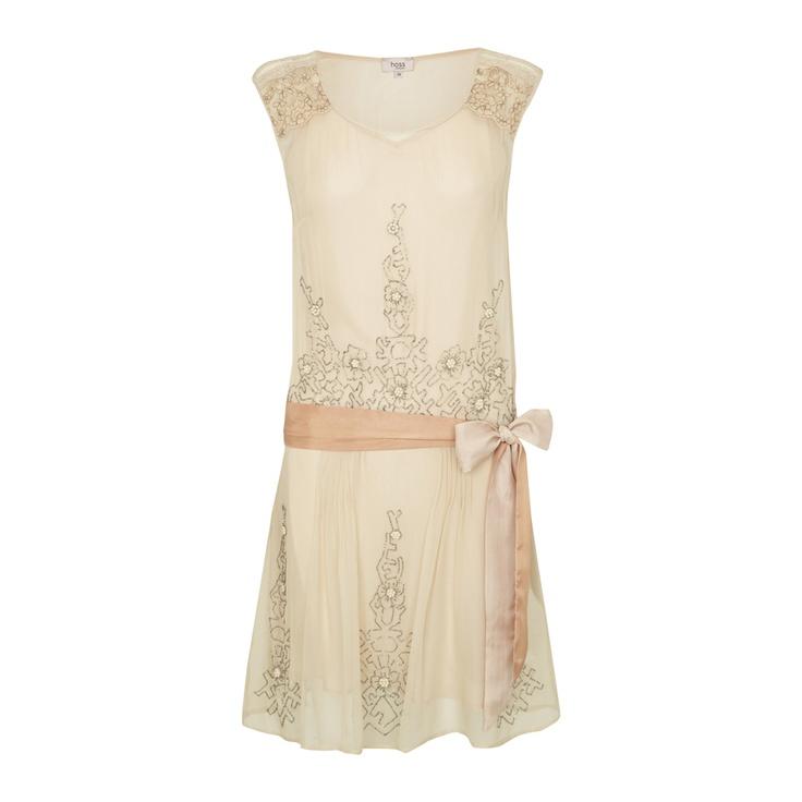 summery Gatsby flapper dress