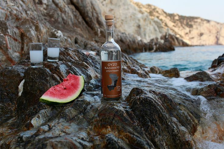Ouzo Kazanisto ...on the rocks!! http://agoragreekdelicacies.co.uk/online-shop/4570272291/Liquors-Spirits