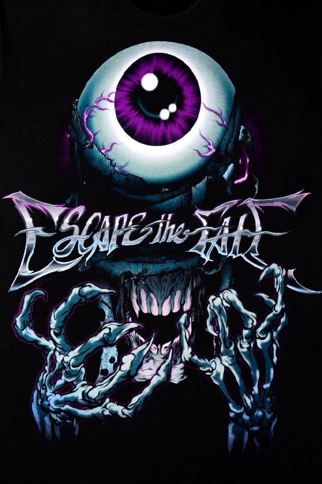 Escape The Fate Eye T Shirt