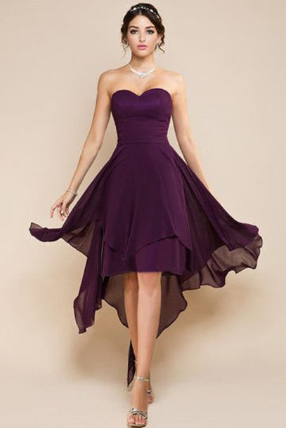 Keels, I like the simplicity here. Dress purple bridesmaid dresses short bridesmaid dresses bridesmaid dresses canada
