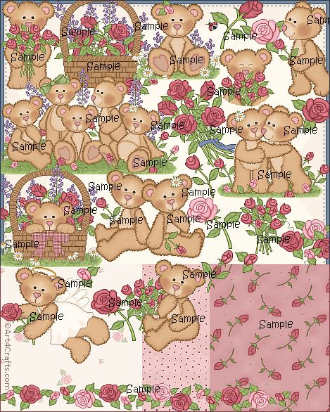 Craft Clipart 30: Roses