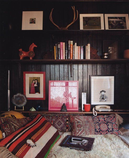 Hippy Chic:  A Guide to Bohemian Living. Extremely informative on how to bring Hippie Chic Decor to the home.