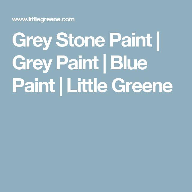Grey Stone Paint | Grey Paint | Blue Paint | Little Greene