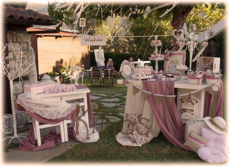Ρομαντικός στολισμός με θέμα την sarah kay-ανθοπωλείο κήπος