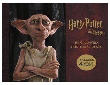 Harry Potter and the Chamber of Secrets Enchanted Postcard Book (Paperback)