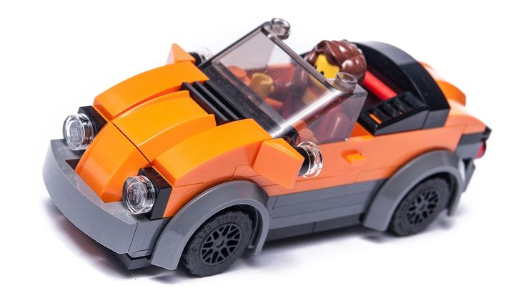 Step by step tutorial for building a LEGO City custom CABRIO car moc. It is 4 wide and it can seat a single minigure. Feel free to share Your thoughts in the...