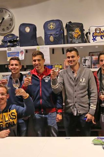 Hellas Verona Football Club players spotted in F & M