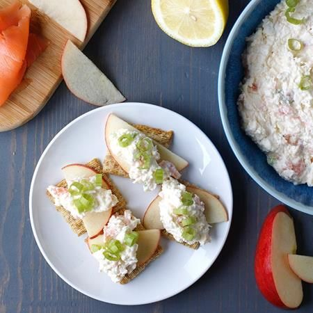 how to make smoked salmon dip