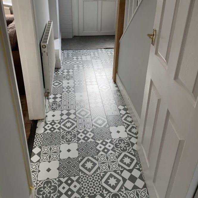 Tile Effect Laminate Flooring, Tile Pattern Laminate Flooring