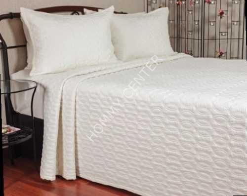 Begonville Serrano Krem Yatak Örtüsü Çift Kişilik | Begonville | Yatak Setleri