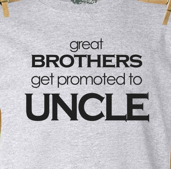 For Uncle Mike's birthday - fun and unique uncle gift idea plain gray t shirt by zoeysattic, $20.00