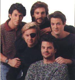 Shane Donovan (Charles Shaughnessy), Dr. Mike Horton   (Michael Weis), Steve Johnson (Stephen Nichols),  Jack Deveraux, Justin Kiriakis (Wally Kurth)