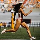 Florence Delorez Griffith-Joyner (#Flo-Jo) was the fastest woman of all time. She was an American track and field athlete. She set the world record back in 1988 for the 100m and 200 m. Griffith was born in Los Angeles, California and was raised in Jordan Downs public housing complex. She ran track a...Florence Delorez Griffith-Joyner (#Flo-Jo) was the fastest woman of all time. She was an American track and field athlete. She set the world record back in 1988 for the 100m and 200 m. Griffith…
