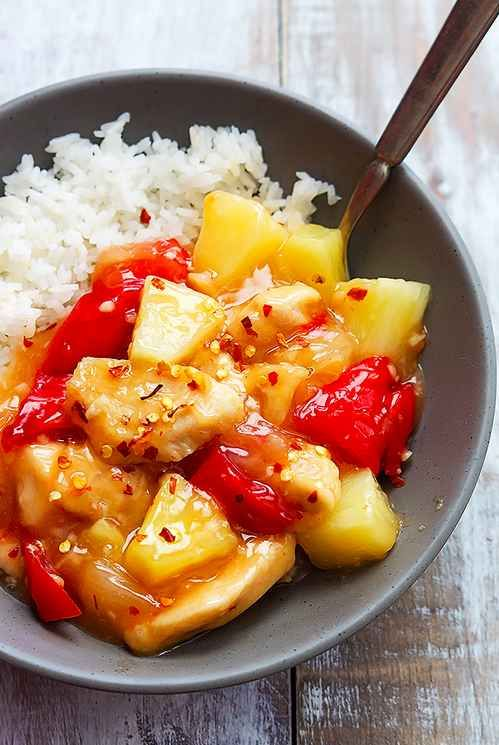 Slow Cooker Sweet Fire Chicken