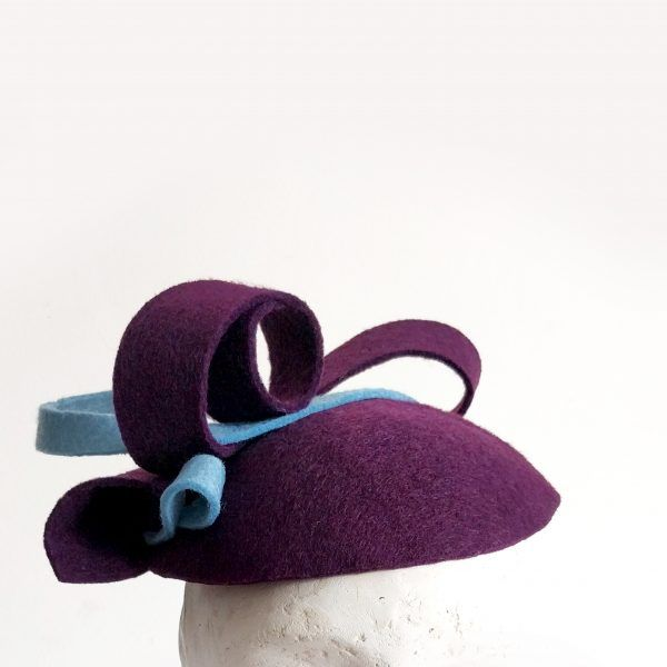 LILY Fascinator hat made by Eventivity Accessorize