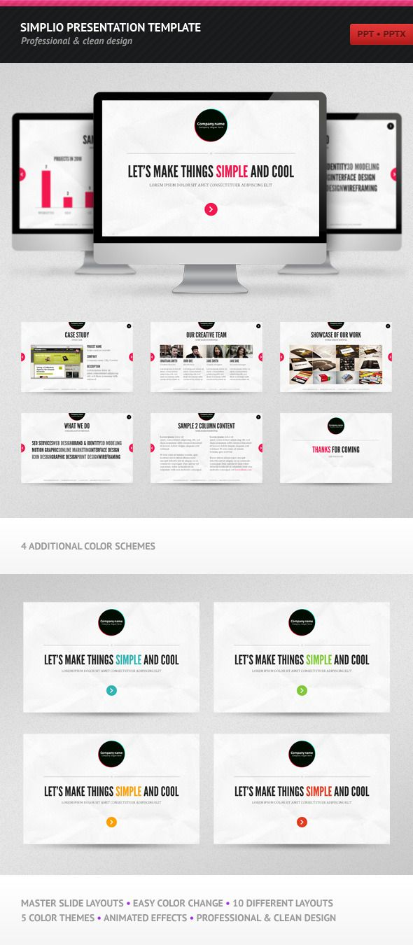 13 best powerpoints images on pinterest presentation layout simplio presentation template toneelgroepblik