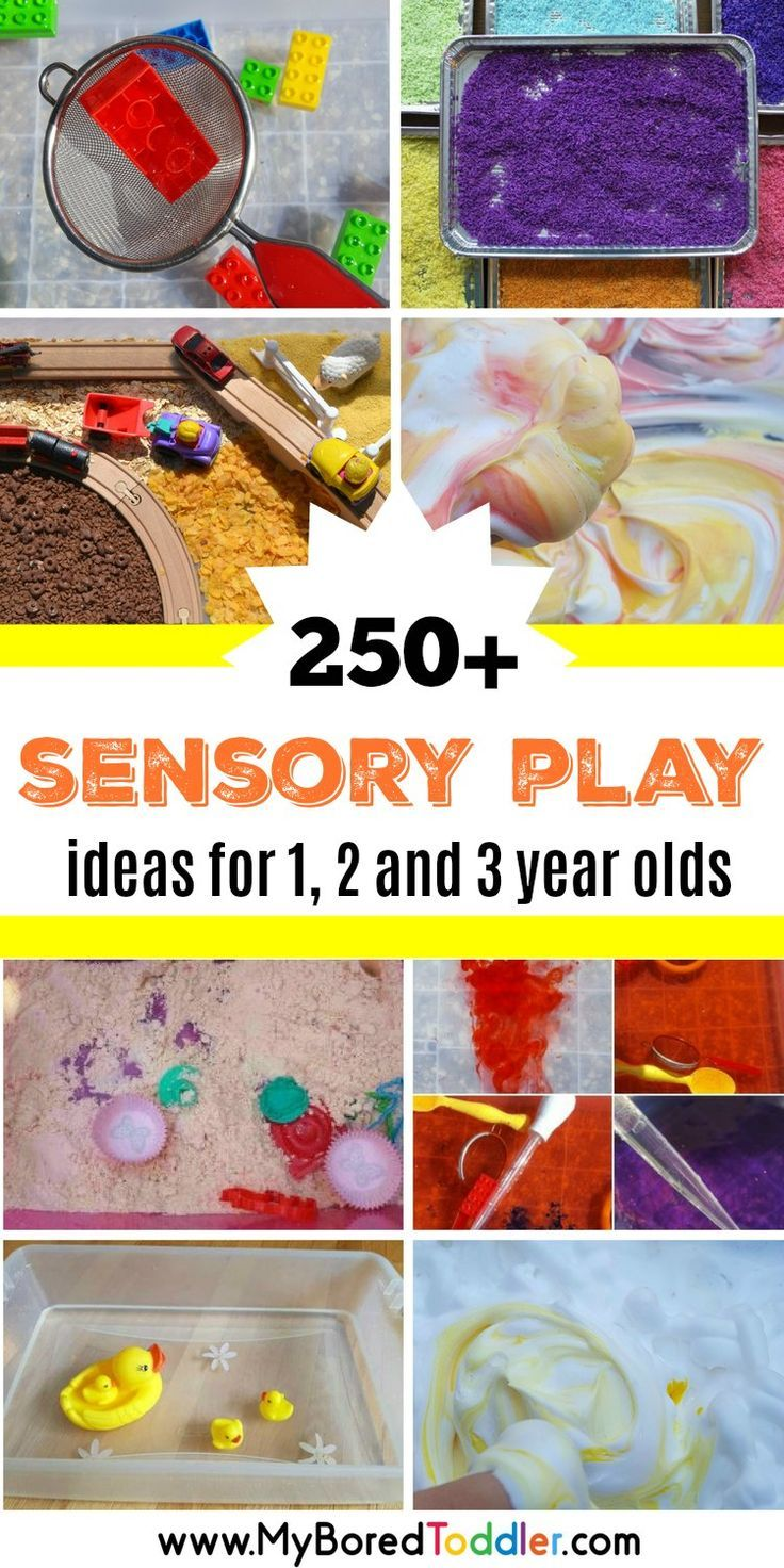 Sensory Play Ideas For Toddlers With Images Sensory Play