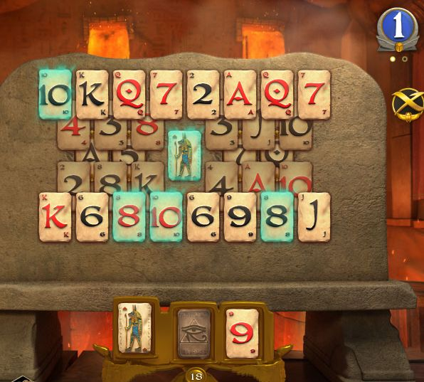 pyramid solitaire saga android game