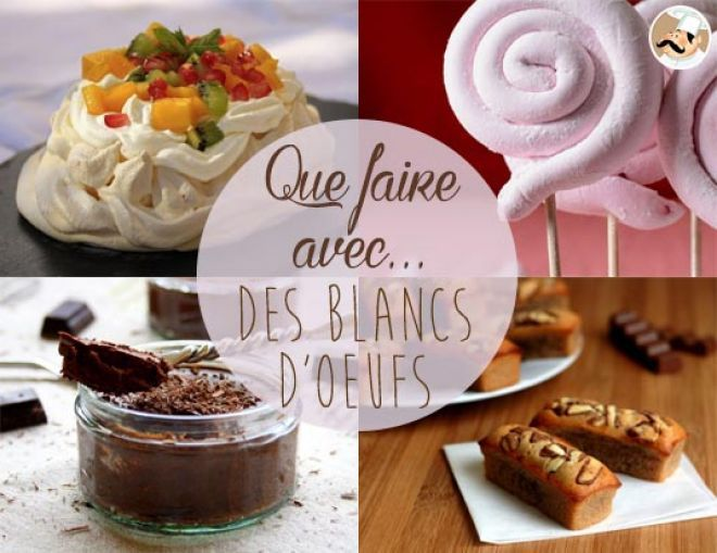 25 best avec les blancs d 39 oeufs images on pinterest desserts baking center and biscotti - Que faire avec des blancs d oeufs thermomix ...