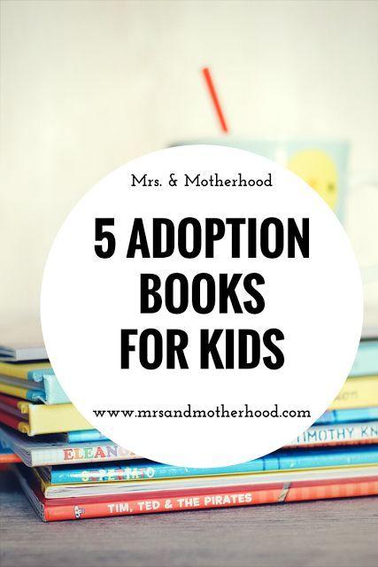Five Adoption Books for Kids