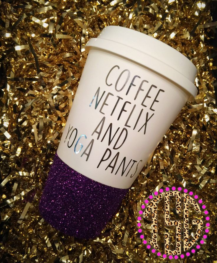 A personal favorite from my Etsy shop https://www.etsy.com/listing/264610542/glitter-dipped-togo-cup-glitter-to-go