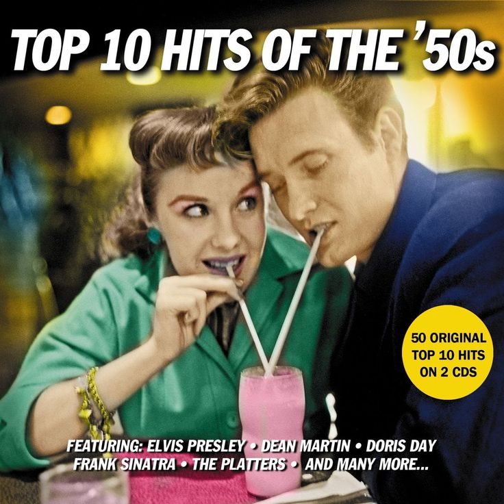 Various Artists - Top 10 Hits Of The 50s - 50 Original Hits (Not Now Mus...