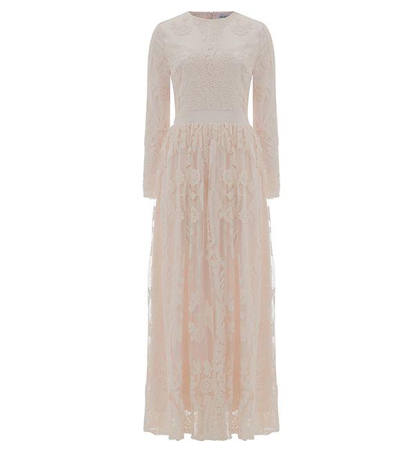 Vestido de encaje en rosa Ashlyn - 89.90 £: Inayah, ropa islámica y Moda, Abayas, Jilbabs, Hijabs, Jalabiyas y Hijab prendedores