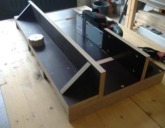 Dickenhobel - Stationäreinrichtung für den PHO 2000 Hobel,Elektrohobel,Dickenhobel,Stationäreinrichtung