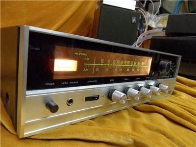 Vintage Sansui 350 Receiver Tuner/Amp - Very Good Condition, used, for sale, secondhand, vintage, retro