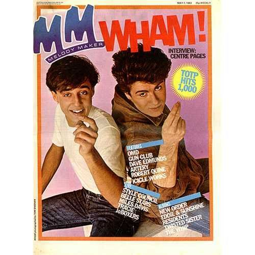 Wham Nothing Looks The Same In The Night Melody Maker 1983