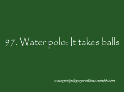 Water Polo Player Problems (leuke site)