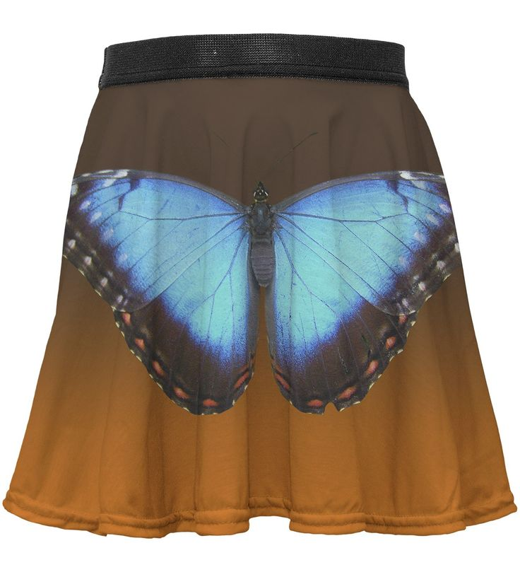 Blue Butterfly circle skirt for kids, Mr. GUGU & Miss GO