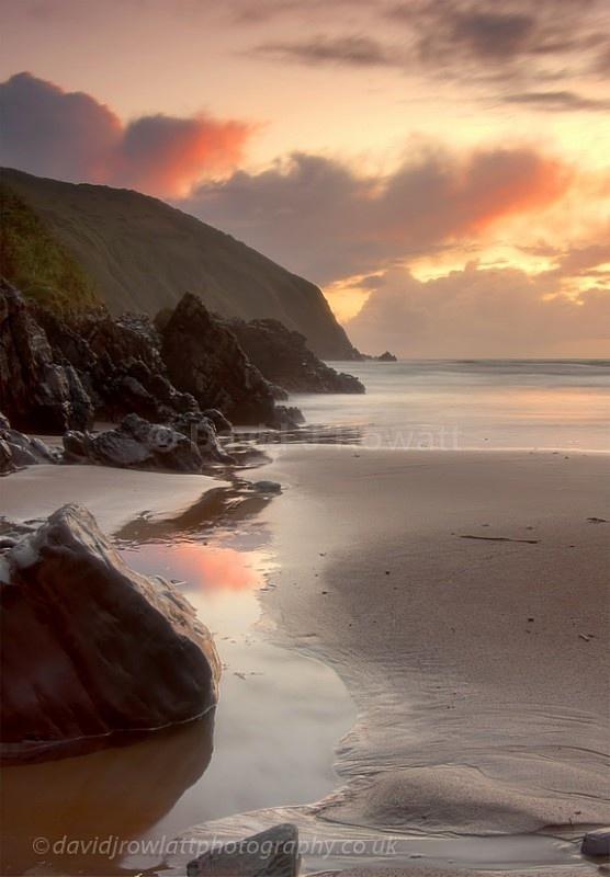 Putsboroughs Orange Glow - Seascapes & Coastal
