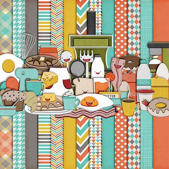 17 Best Images About Digi Scrap Cooking And Kitchen Theme On Pinterest Scrapbook Kit